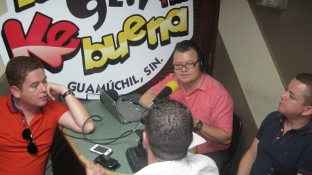 LOS ALEGRES DEL BARRANCO EN LA 92.1FM «KE BUENA GUAMUCHIL»