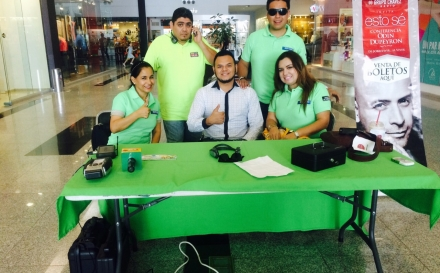 Gran venta de boletos para Odín Dupeyron, en Paseo Los Mochis.