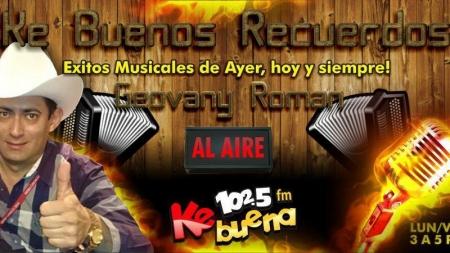 ESCUCHA EN EL 102.5FM KE BUENA LOS MOCHIS A GEOVANY ROMAN