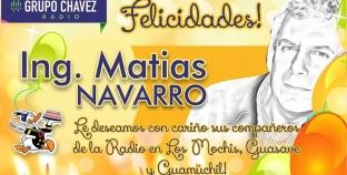 Feliz cumpleaños Matias Navarro
