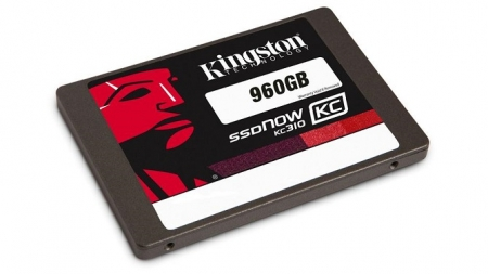 Kingston presenta un SSD de 960GB de nivel empresarial.