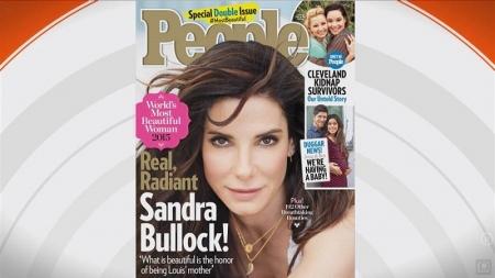 Sandra Bullock es la mujer más bella del mundo.