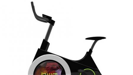 ¿Una bicicleta que lava la ropa?