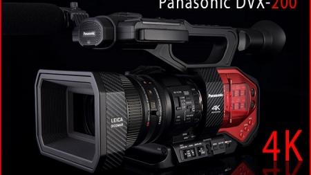 Panasonic muestra su nuevo camcorder 4K AG-DVX200.