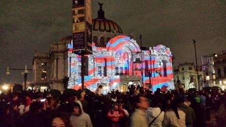 Gran Festival Internacional de las luces México 2015.