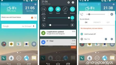 El LG G3 recibe la actualización Android Lollipop en Verizon.