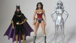 Mattel lanzará figuras de superheroínas femeninas.
