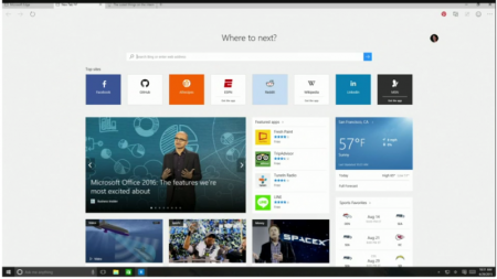 ¡Adiós Spartan! Microsoft anuncia Microsoft Edge.