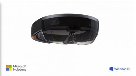 Microsoft presenta avances Hololens, su dispositivo de realidad aumentada.