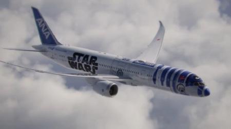 Conoce el avión que llevó el fanatismo de Star Wars a otro nivel.