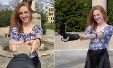 El brazo selfie, el nuevo invento para hacerse autofotos.