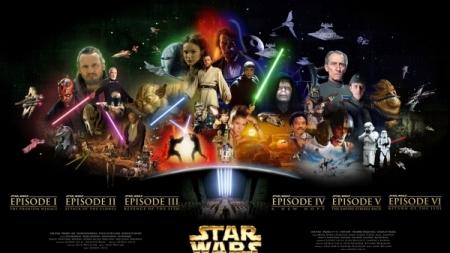 Así se grabaron los títulos en las primeras películas de Star Wars.