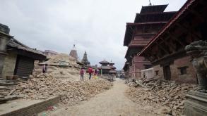 Terremoto en Nepal.