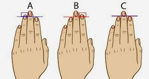 test dedos