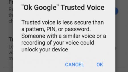 """""""Trusted Voice"""", la nueva función de Android para desbloquear el teléfono."""