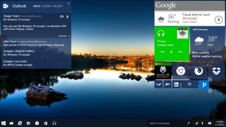 Windows 10 podría llegar en julio, pero no para smartphones.