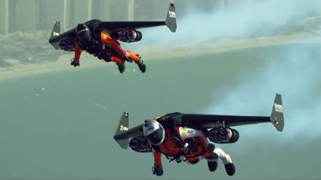Empresa en Dubái creó traje que permite volar al estilo de Iron Man.