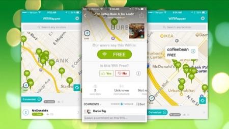 Encuentra Wi-Fi gratis en cualquier parte del mundo con esta aplicación.