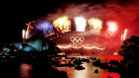 Anillos olímpicos de Sidney-2000 vendidos en eBay.