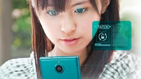 Crean primer smartphone capaz de reconocer el iris del usuario.