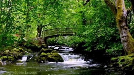 Cascada irlandesa ayuda a millones de personas a conciliar el sueño.