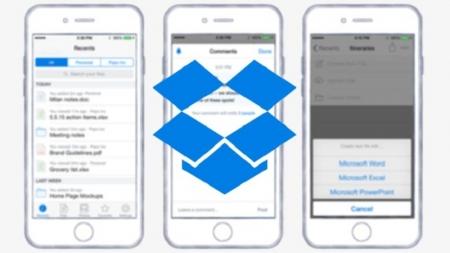 Dropbox para iOS estrena nuevas funcionalidades.