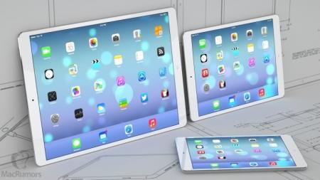 Se acerca el iPad Pro: tendrá pantalla sensitiva más grande y un lápiz externo.