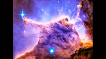 La primera imagen en 3D de la Nebulosa del Águila.