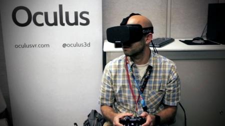 Oculus desarrolla visor que simule el tacto.