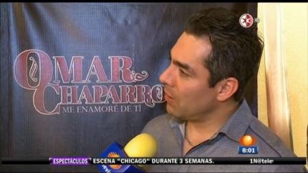 Omar Chaparro espera otra oportunidad.