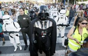 star wars desfile