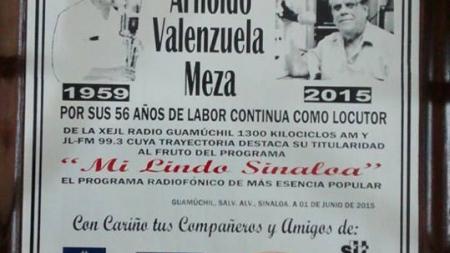 Arnoldo Valenzuela: Una trayectoria difícil de olvidar .