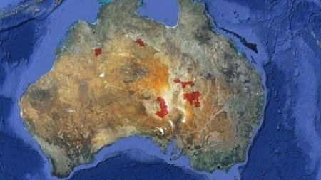 Por $325 millones puede comprar 11 millones de hectáreas de terrenos en Australia.
