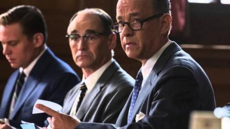 """Tom Hanks y Spielberg juntos en """"Bridge of Spies"""""""