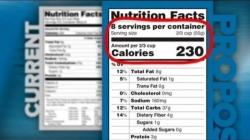 Presentan nuevo etiquetado nutricional.