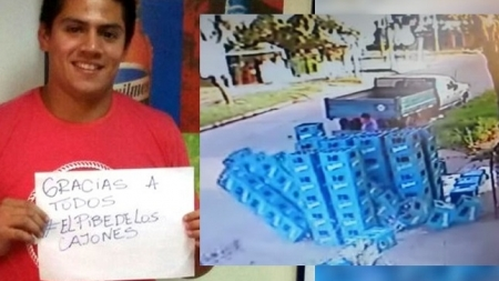 Premian en Argentina a un joven que quebró más de 400 cervezas.