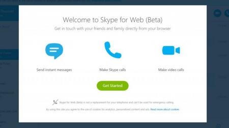 Microsoft presenta versión web de Skype.