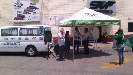 Grupo Chávez Radio en SEVAFUSA