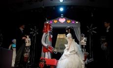 La primera boda entre robots japoneses.