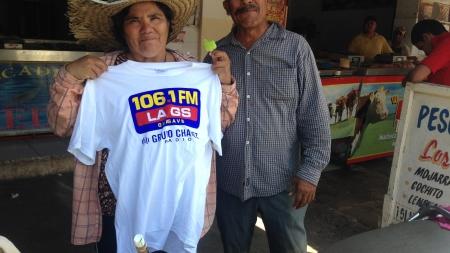 EL MERCADO DE GUASAVE SE VISTIÓ CON LA GS 106.1 FM