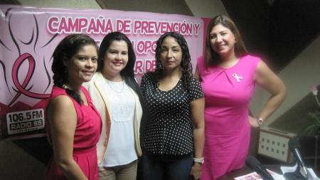 ARRANCARON LOS PROGRAMAS DE PREVENCIÓN DE CÁNCER DE MAMA