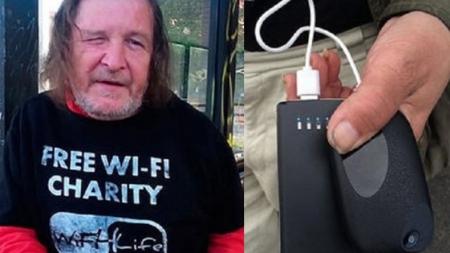 PERSONAS SIN HOGAR SERÁN WiFi ANDANTES