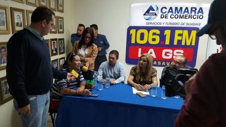 """RUEDA DE PRENSA PARA """"LA GRAN EXPO NAVIDEÑA CANACO 2015"""""""