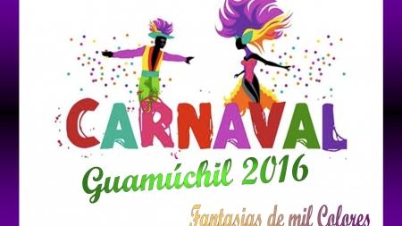 DALE LA BIENVENIDA, QUE YA LLEGA EL «CARNAVAL GUAMUCHIL 2016»