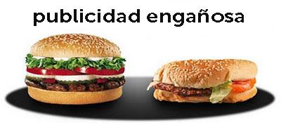 ENGAÑOS DE LA PUBLICIDAD