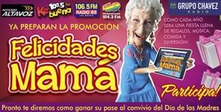 """ELLAS SON LAS MAMÁS GANADORAS DE LA PROMOCIÓN """"FELICIDADES MAMÁ"""""""