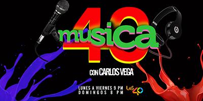 40: CARLOS VEGA