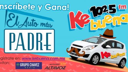 GANATE EL AUTO MÁS PADRE CON LA KEBUENA 102.5FM