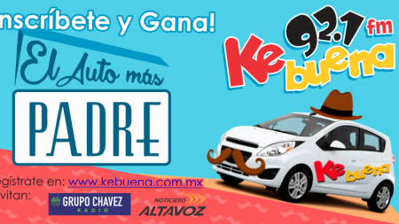 GANATE EL AUTO MÁS PADRE CON LA KEBUENA 92.1 FM