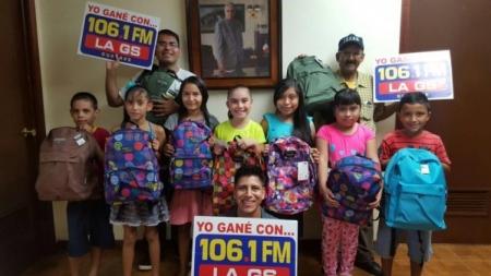 DE REGRESO A CLASES CON LA GS 106.1FM Y LA BANDA CERVANTES